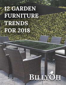 12 Garden furniture trends for 2018