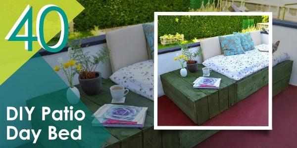 More DIY outdoor furniture ideas coming through...