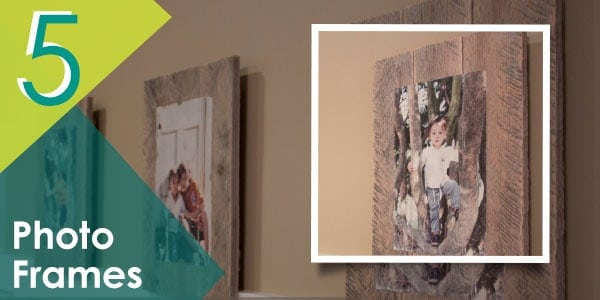 Make the most of your old pallets by adding this DIY pallet frame to your project ideas