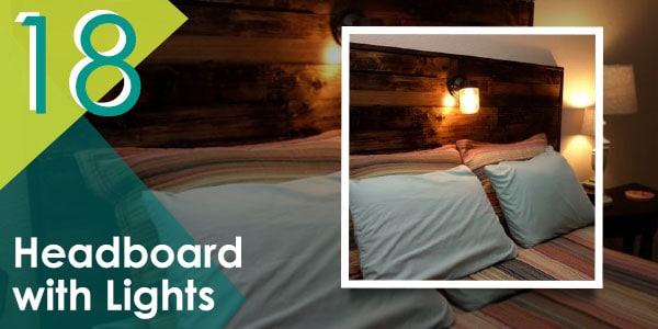 Headboard with Lights