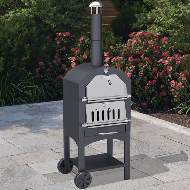 BillyOh 3-in-1 pizza oven BBQ