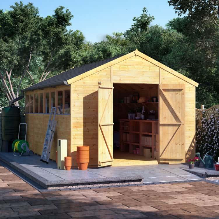 Six Garden Shed Maintenance Tips