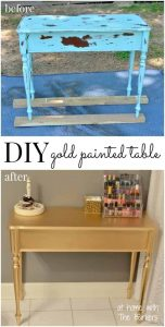 6 DIY Home and Garden Interior Spray Paint Ideas