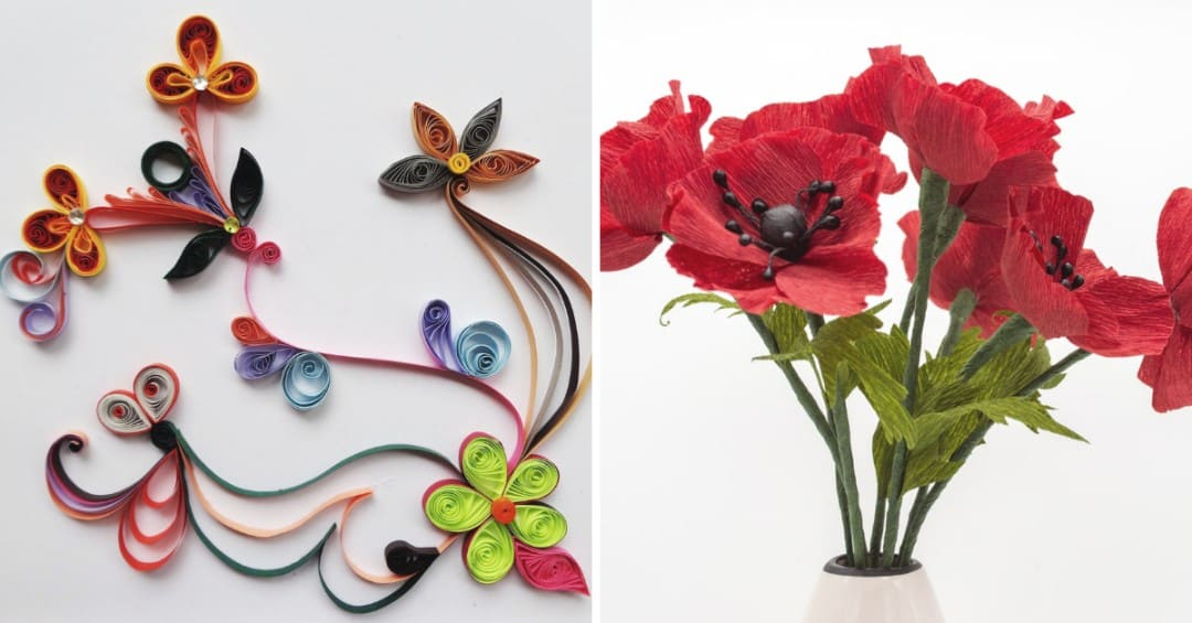 Decorate Your Home With These Five Easy Diy Paper Flowers