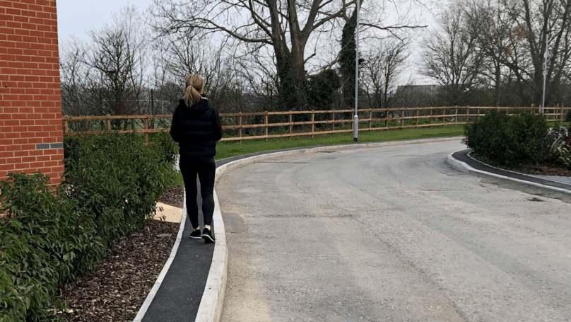A 'Ridiculous, No Brains' Footpath Design That Is Only 40cm Wide