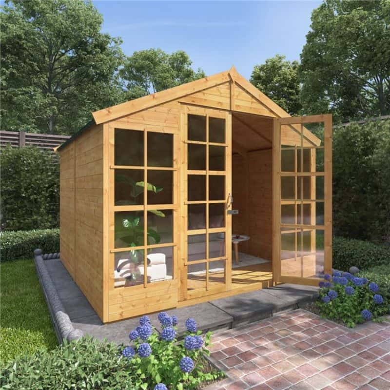 BillyOh Harper Tongue and Groove Apex Summerhouse