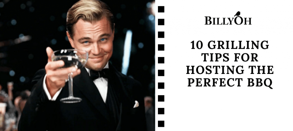 10 Tips For Hosting The Perfect BBQ with Leonardo DiCaprio from The Great Gatsby