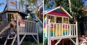 best wooden playhouse