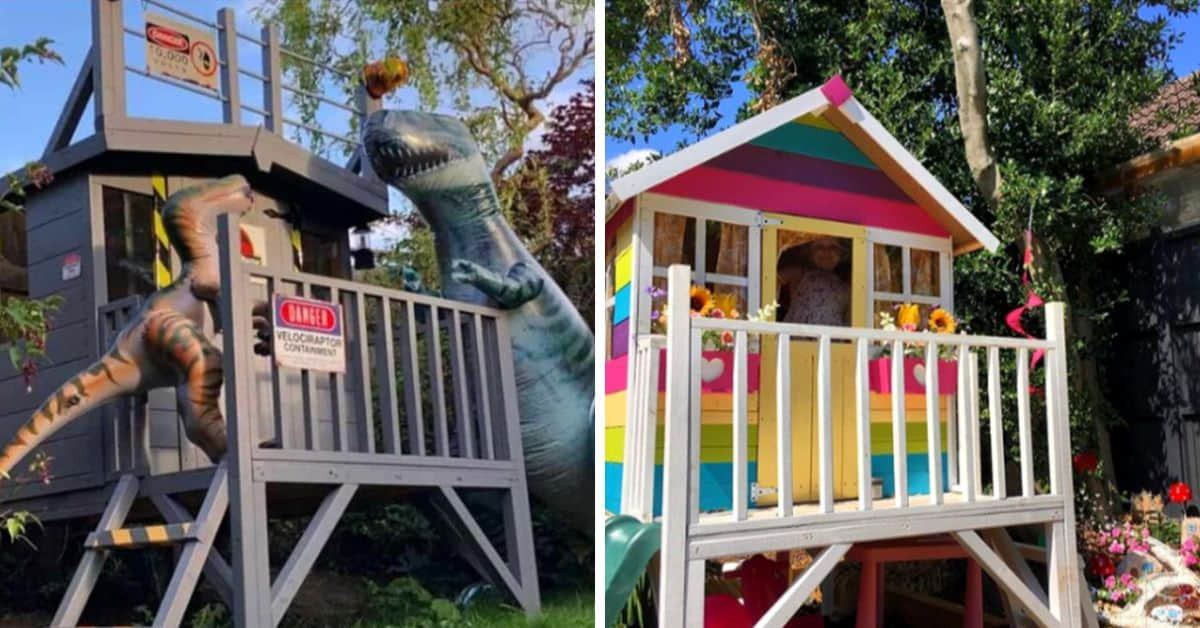 best wooden playhouse