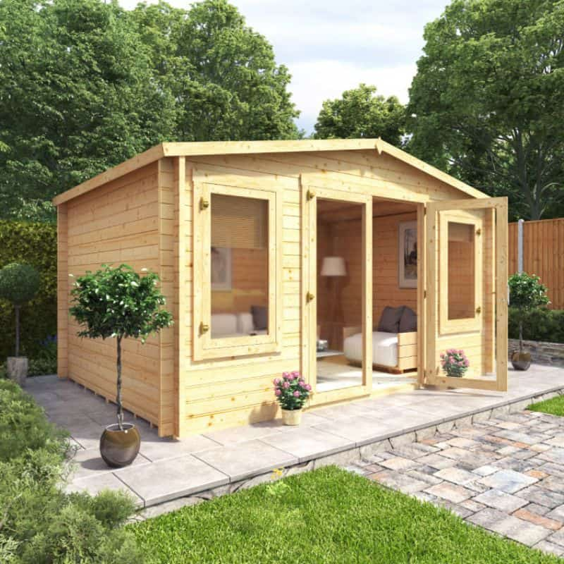 ways-to-heat-up-your-garden-in-winter-6-log-cabin