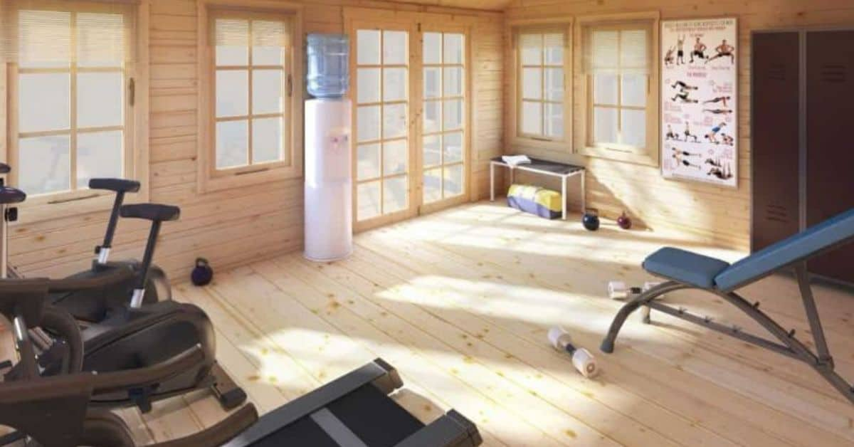 ways-to-turn-your-log-cabin-into-a-home-gym