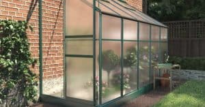 BillyOh Polycarbonate Lean-To Greenhouse