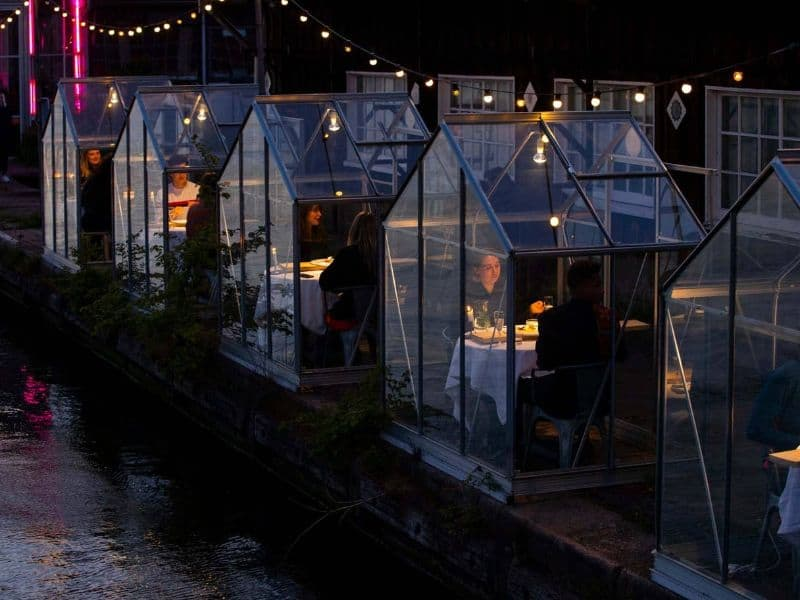 Quarantine Greenhouse Pod Amsterdam