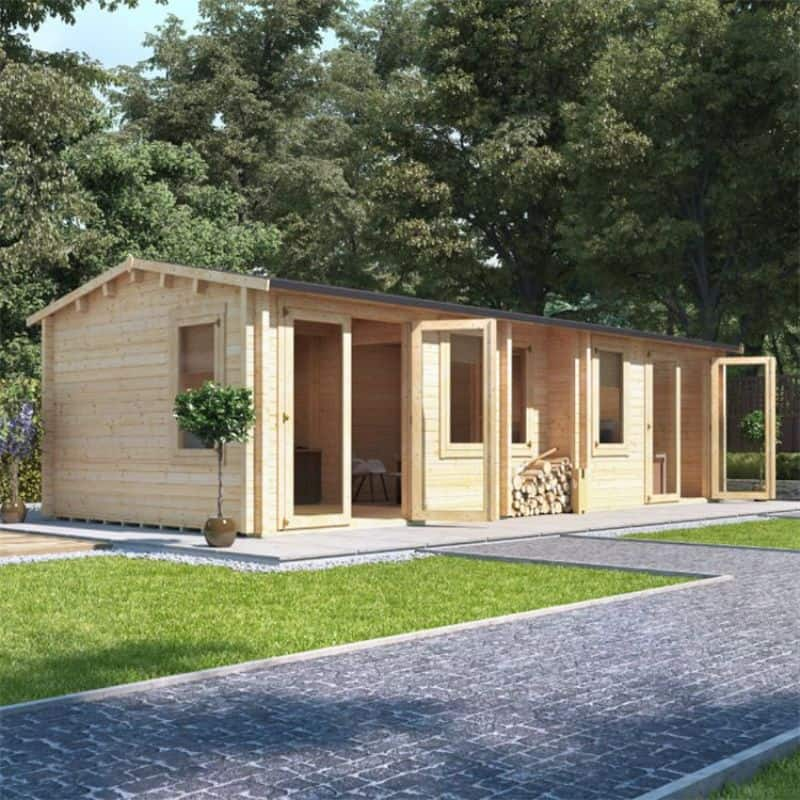 Converting your shed into a garden office - BillyOh Hub Garden Office Log Cabin