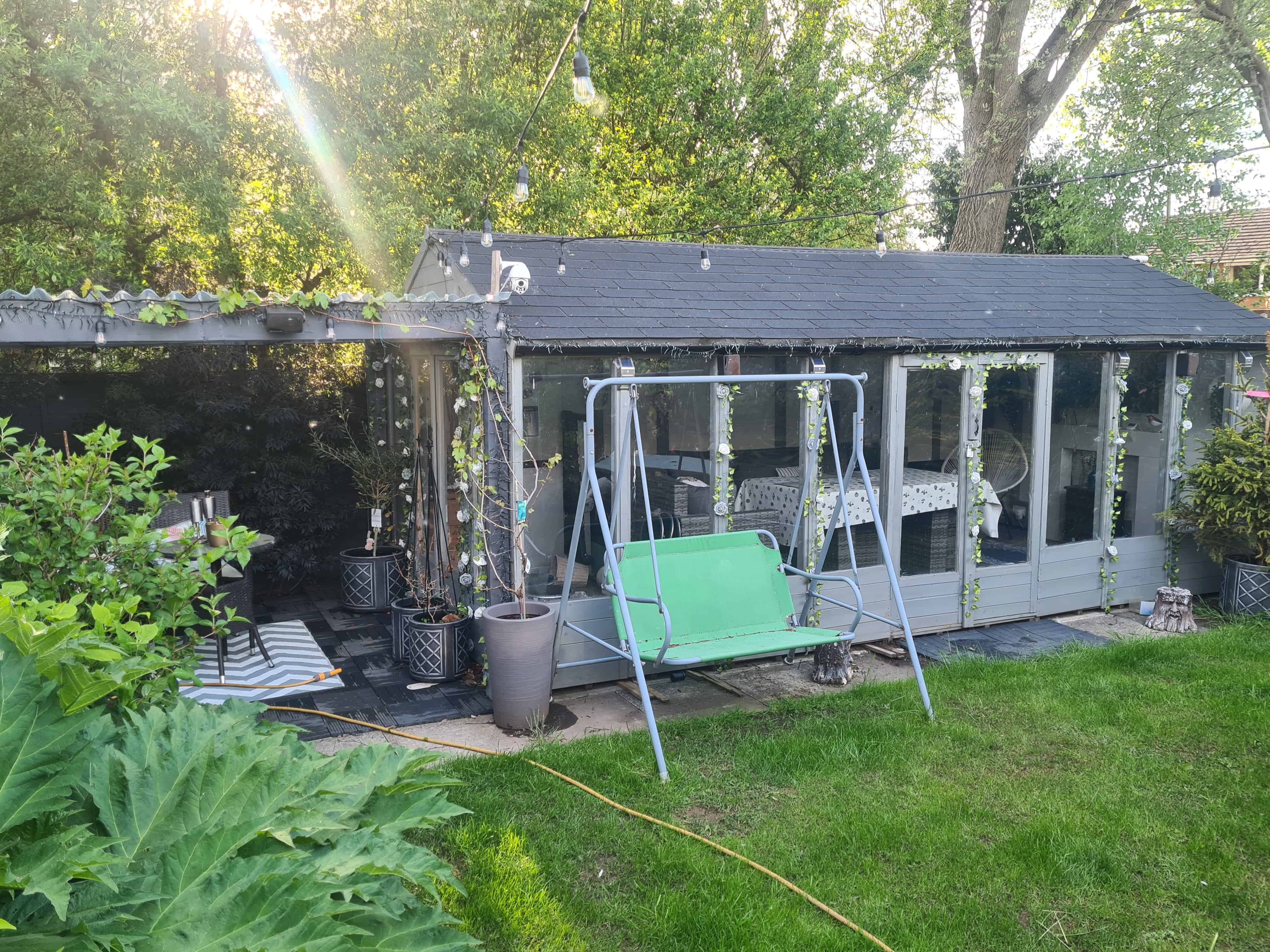 BillyOh Petra Reverse Apex Tongue and Groove Summerhouse