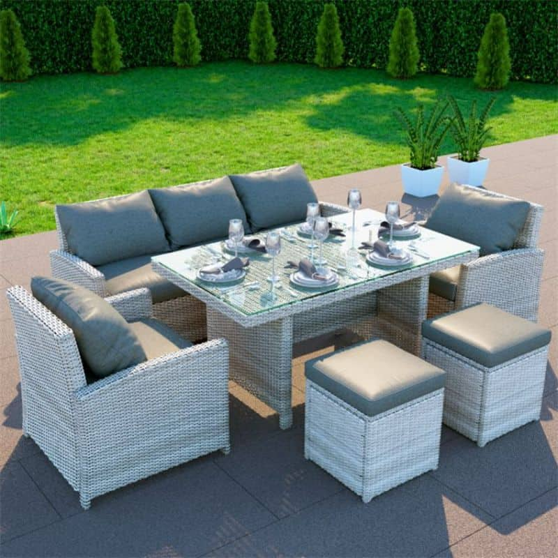 BillyOh Minverva rattan outdoor furniture dining set