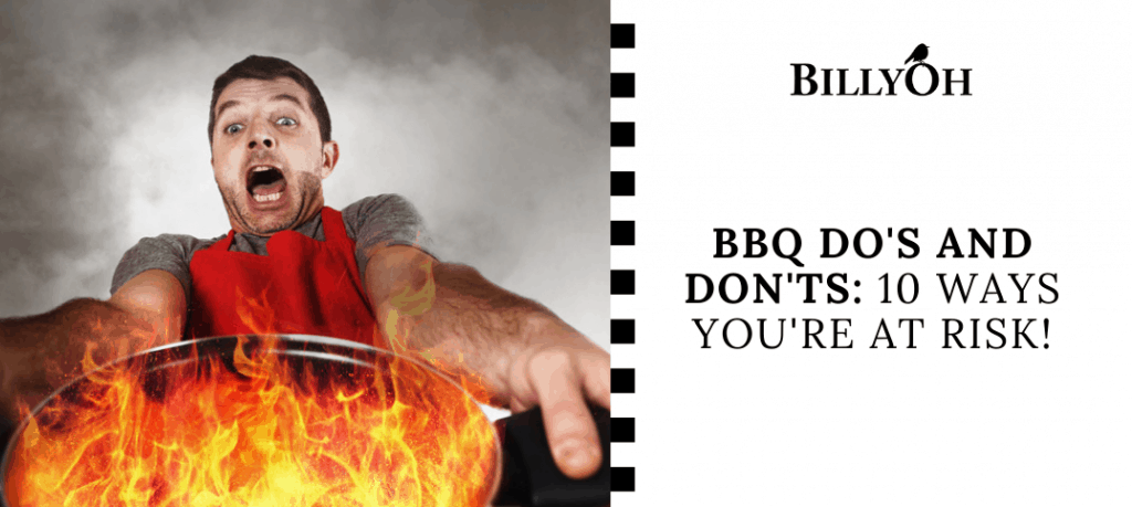 Grease Fire BBQ Do's and Dont's