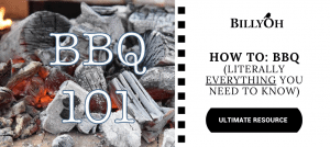 BBQ 101 with white hot charcoals