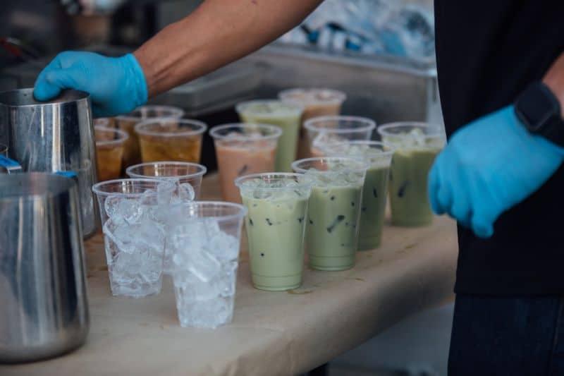 Variety of yummy summer drinks!