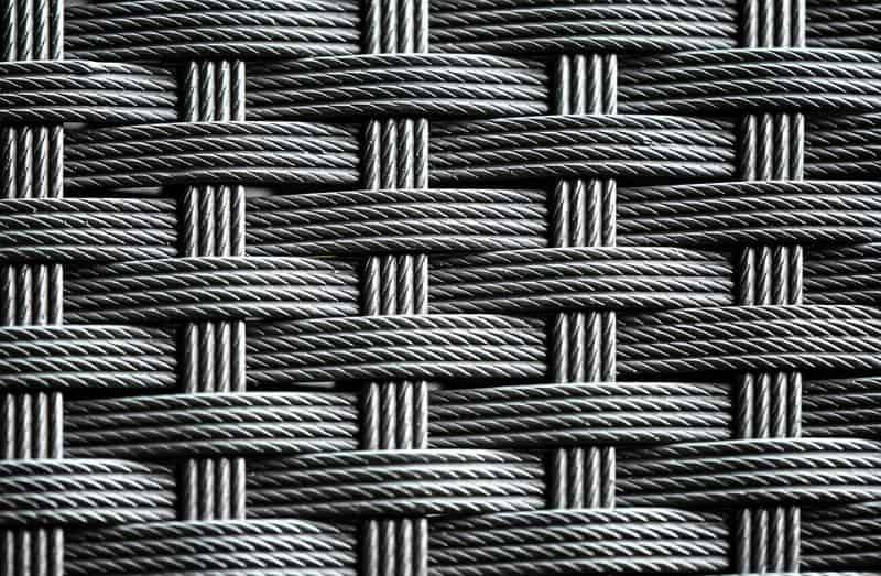 Synthetic rattan (PE) material
