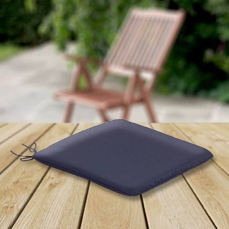 The CC Collection - Garden Seat Cushions - Garden Seat Pad - Navy Blue