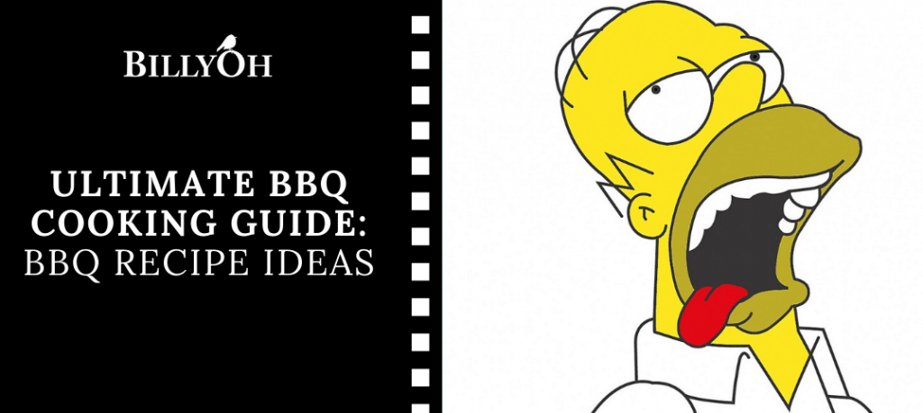 BBQ Cooking Guide Recipes With Homer Drooling