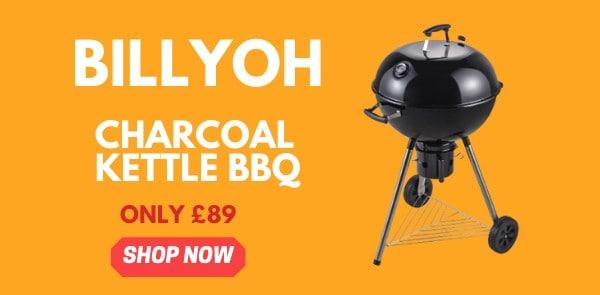 BillyOh Charcoal BBQ banner