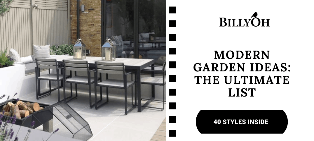 Modern Garden Ideas BillyOh featured image