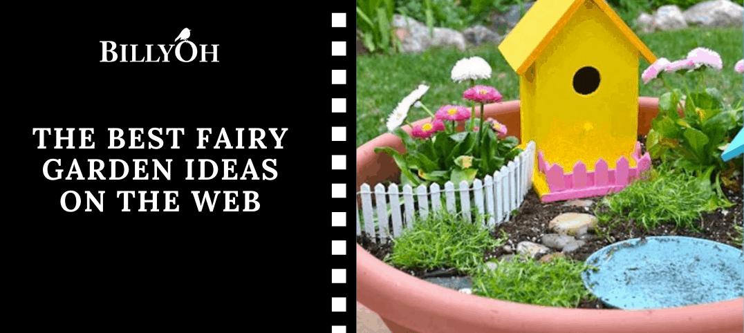 The Best Fairy Garden Ideas on the web with fairy garden in plant pot