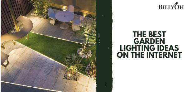 The Best Garden Lighting Ideas on the Internet