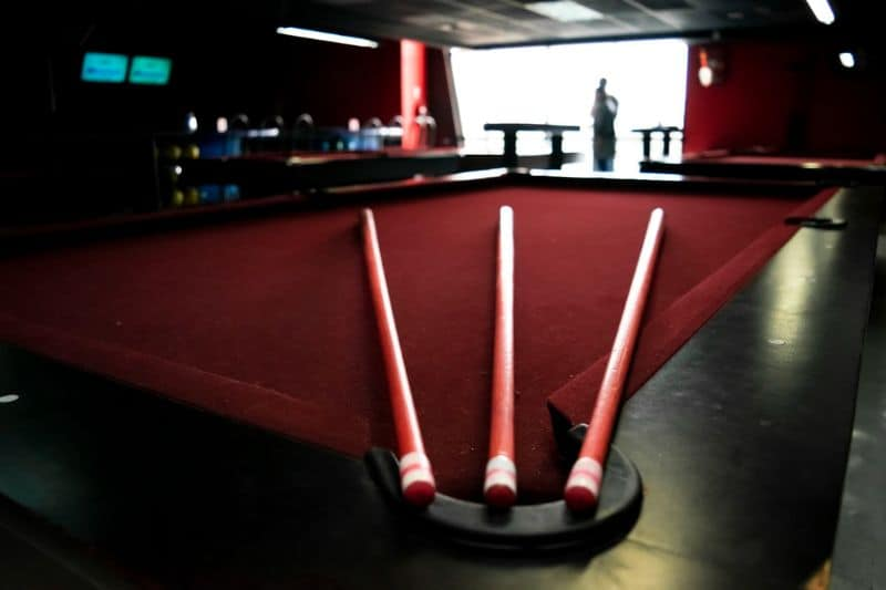 An iconic centrepiece pool table