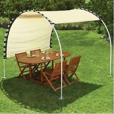 Adjustable sun tracking canopy
