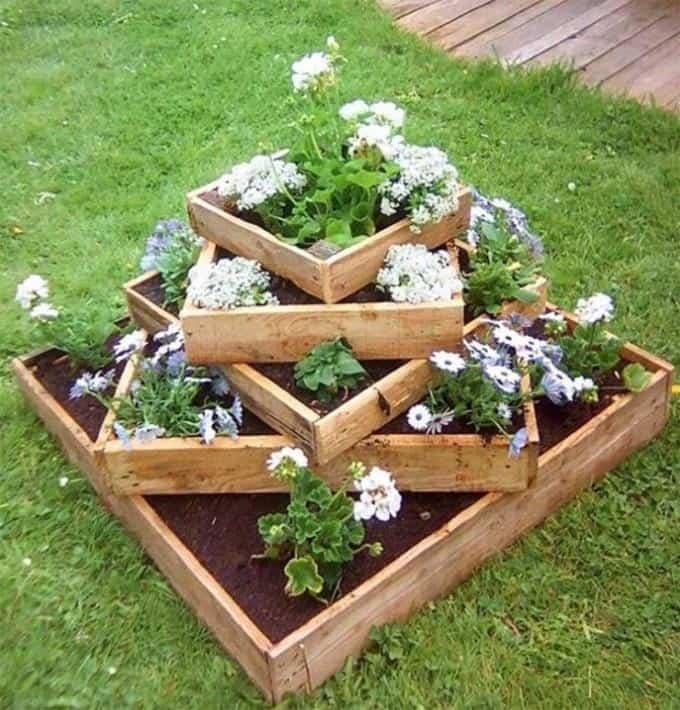 spiral pallet planter