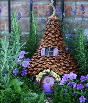 pinecone fairy tree