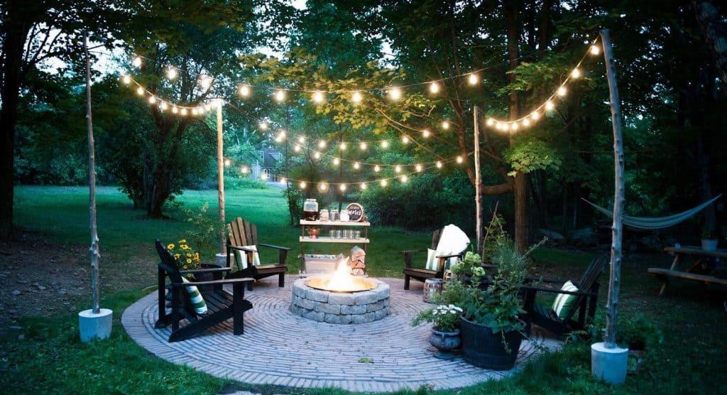 fire pit patio