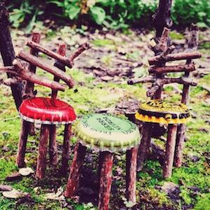 fairy garden chairs