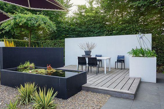 Modern Landscape garden and decking