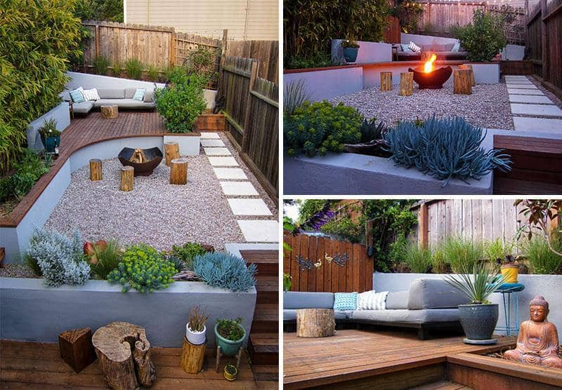 two-level small backyards