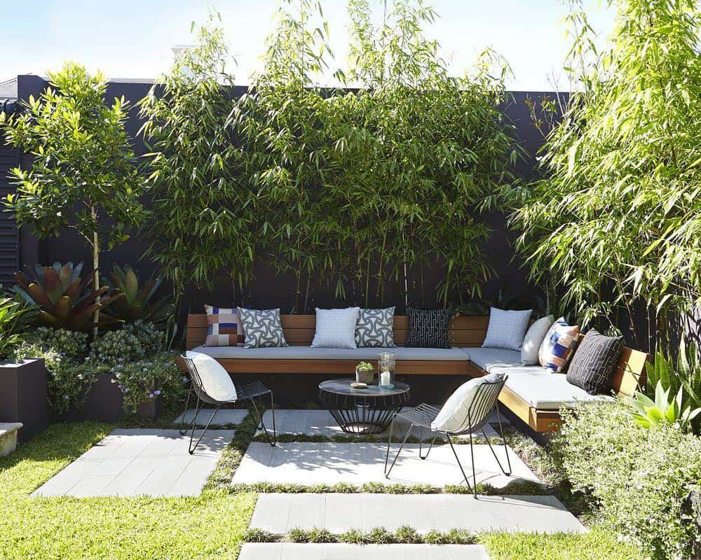 cosy corner with fence