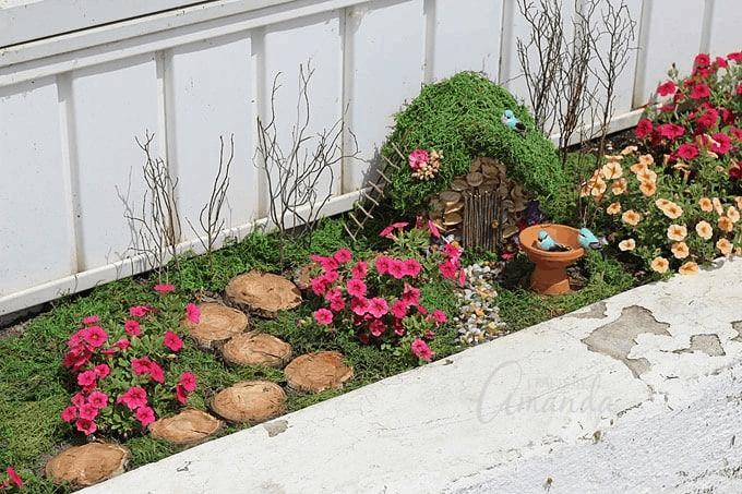 windowbox fairy garden