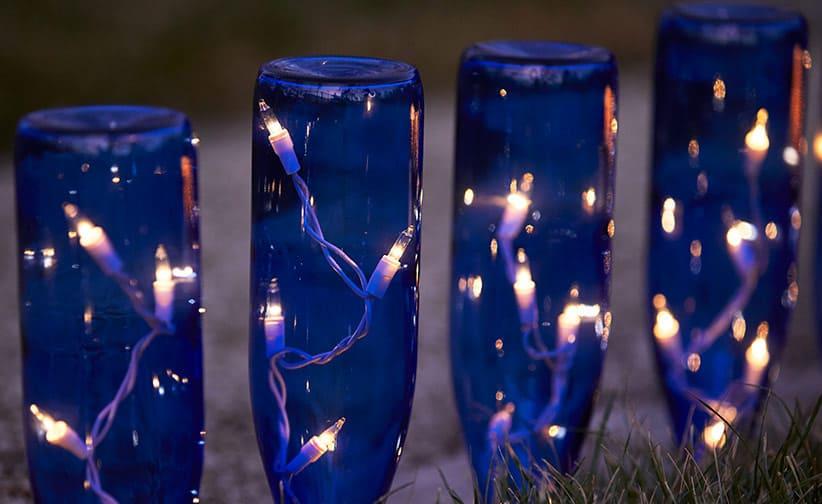 bottle water lighting