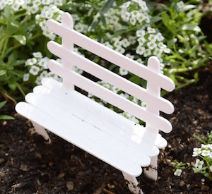 ice lolly stick bench