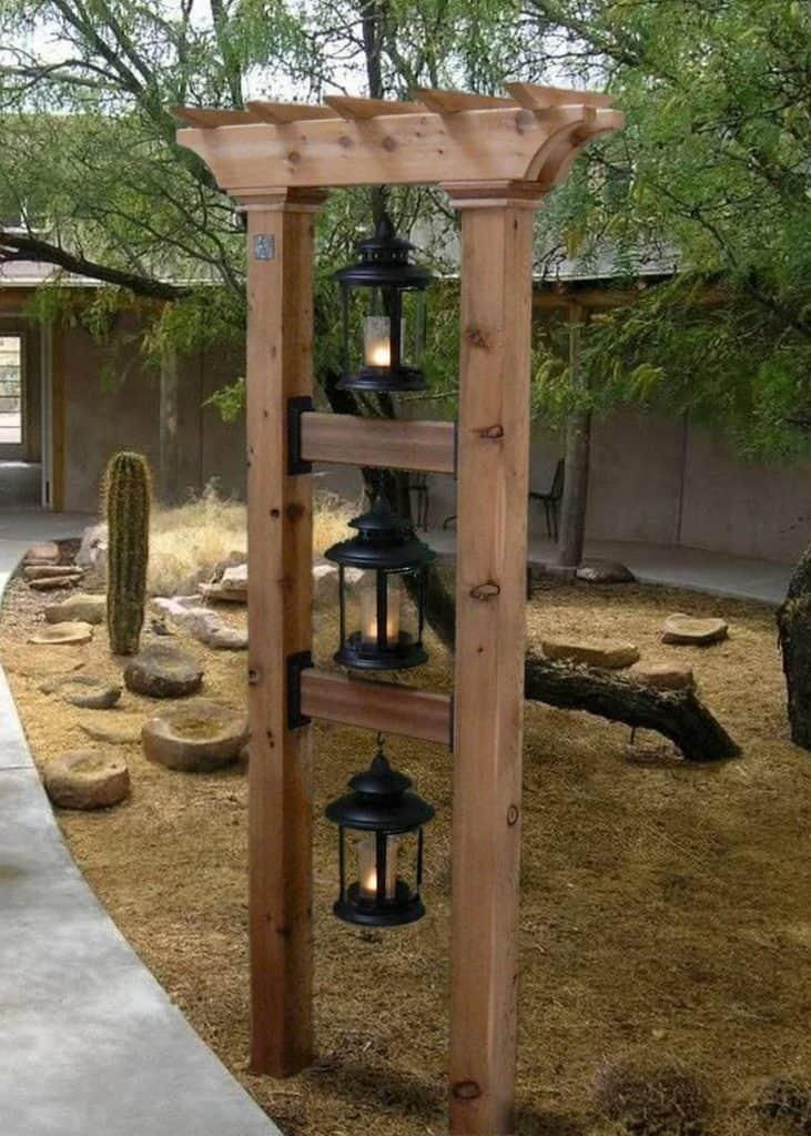 oriental vertical lights