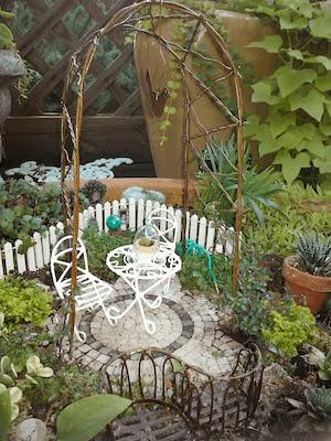 fairy garden patio