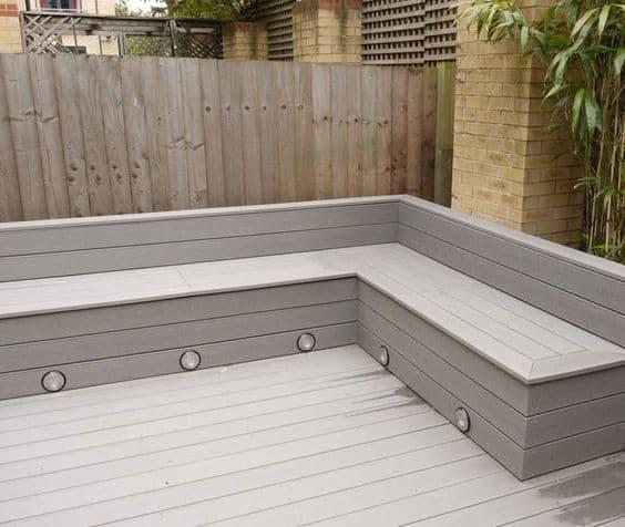 grey deck