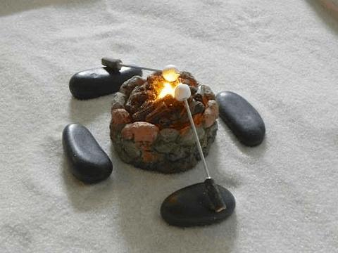 fairy garden fire pit