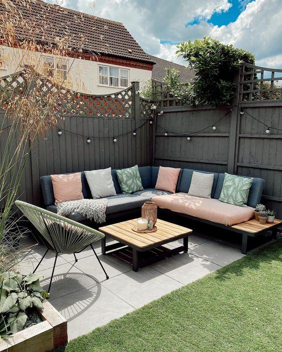 sofa small backyard