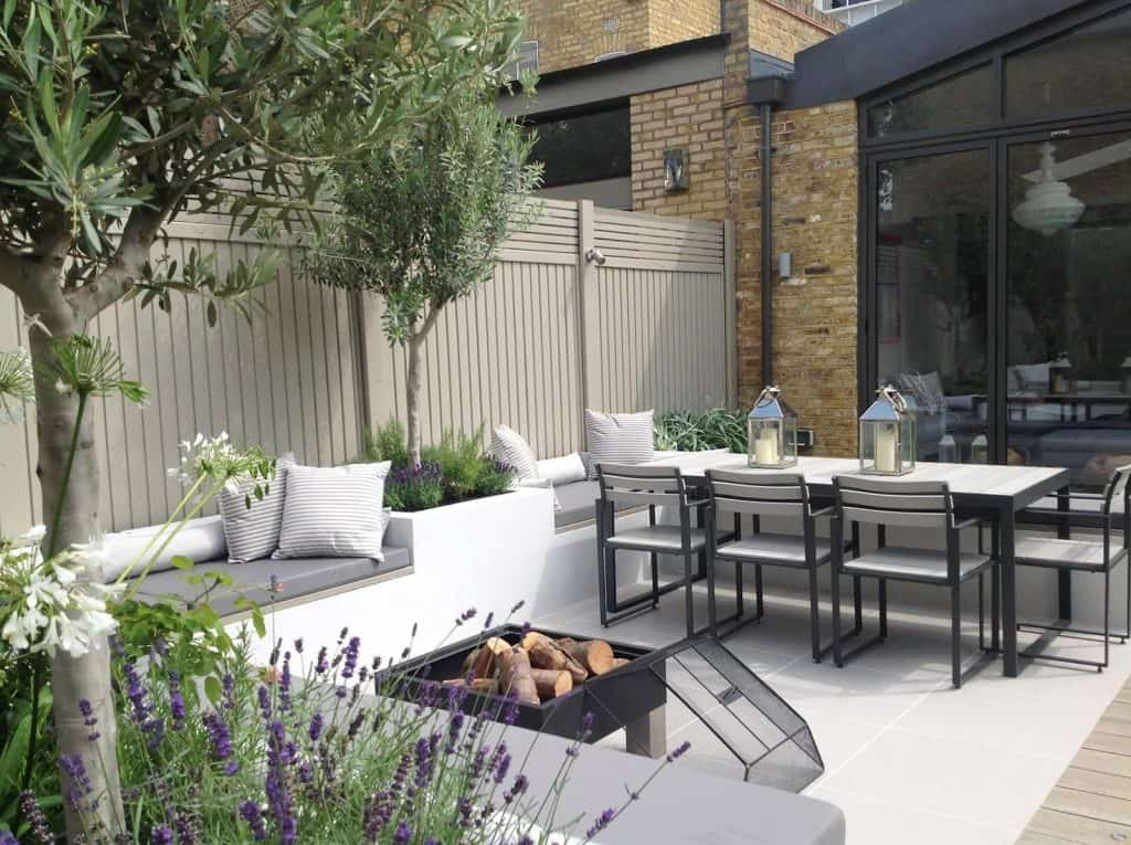The Clancy decking and patio table