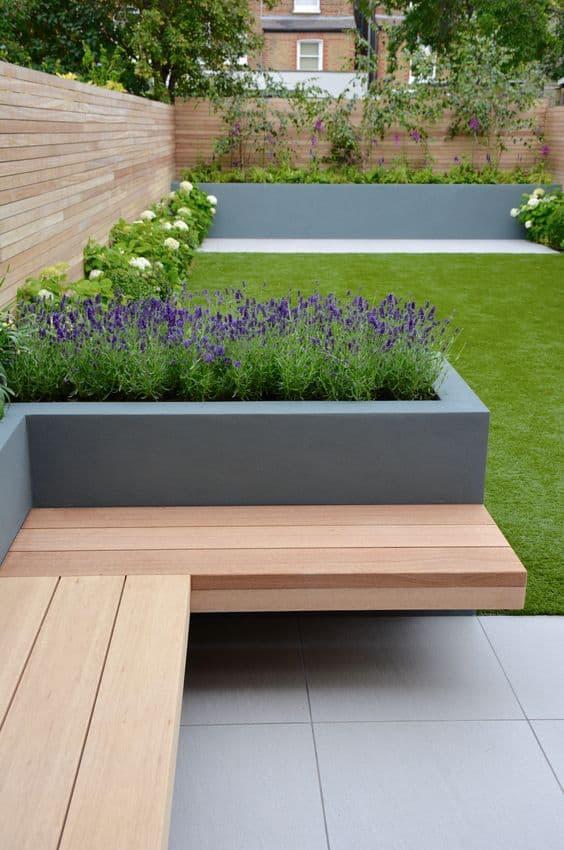 modern simply bench