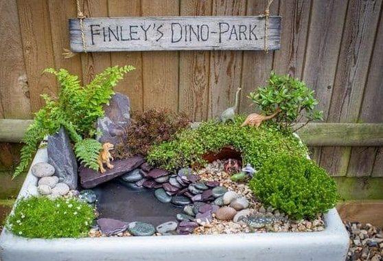 Mini Dinosaur park